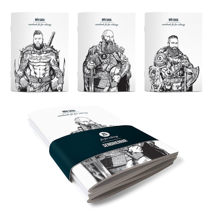 Notebooks fit for vikings