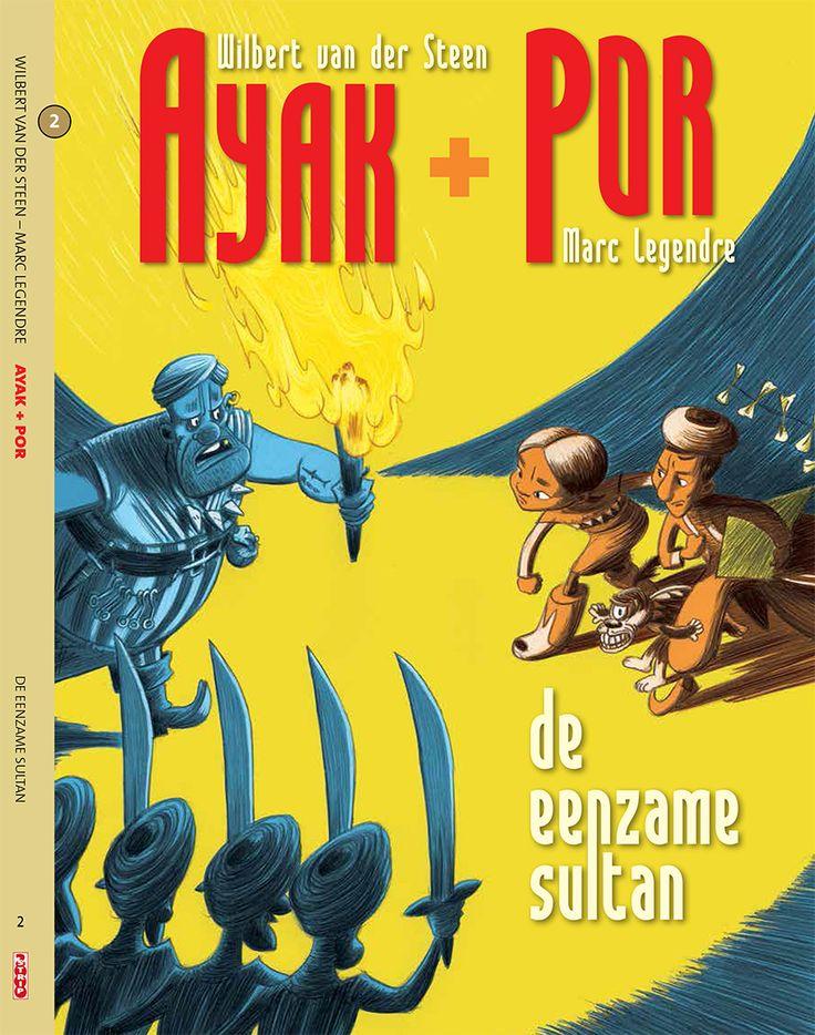 Cover second book Ayak + Por