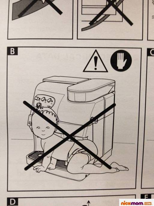 Thanks, Espresso Machine Manual. I Was Just About To Let My Baby Steam His Diaper: Espresso Machine, Babies, Photos Coffee, Diapers, Funny Photos, Machine Manual So, Baby Steam, Baby Animals, Diaper Nickmom