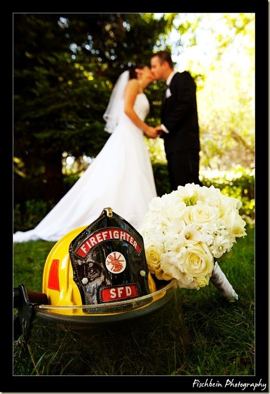 Firefighter Weddings. Casually planning my brothers imaginary wedding for when he actually decides to get married.