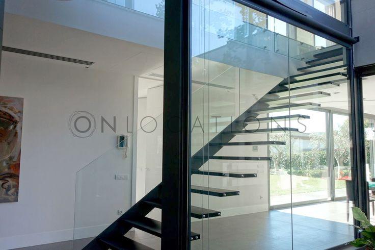 Large glass panels allow plenty of sunlight