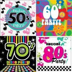 70's+party+theme | ... New Party Themes Featuring Decades from the Twentieth Century