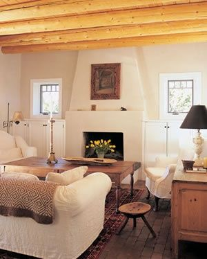 Modern Southwestern Fireplace Lived In Pinterest