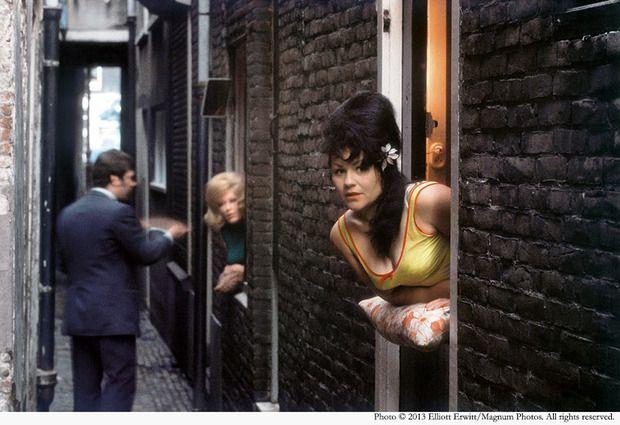 Red Light District Amsterdam 1968 - Elliott Erwitt
