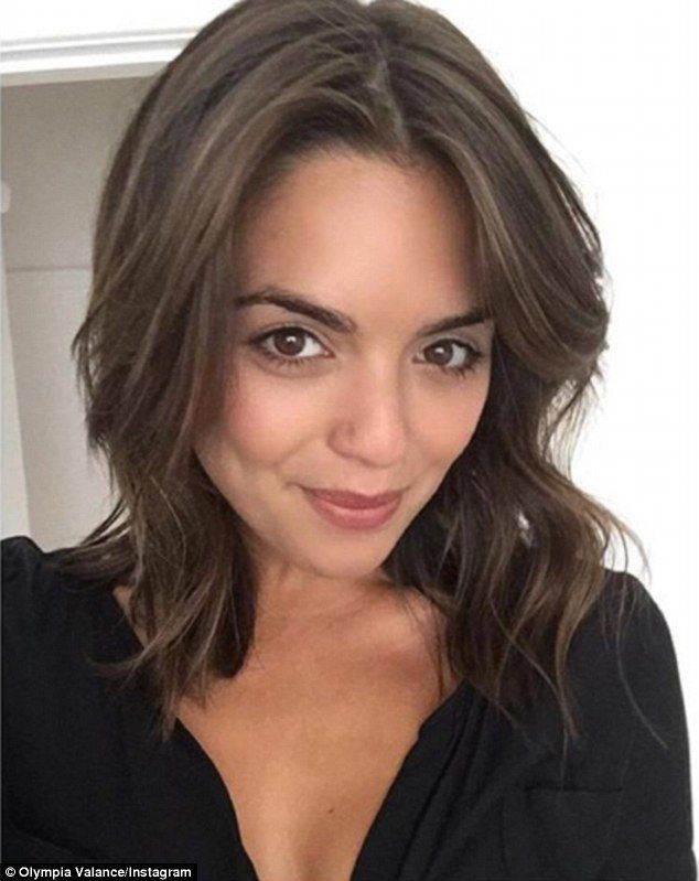 Short hair, don't care! Olympia Valance, 23,  debuts sassy new do after chopping off her luscious brown locks