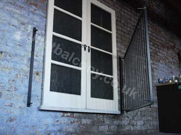 Swing Open Juliet Balconies From Including All Fixings And VAT