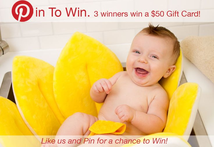 Pin to win! 3 winners chosen to receive $50 gift cards!  Visit the Blooming Bath Facebook page to enter!