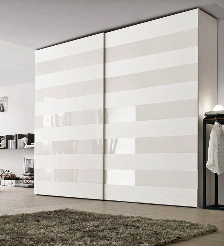 Современный белый дизайнерский шкаф купе