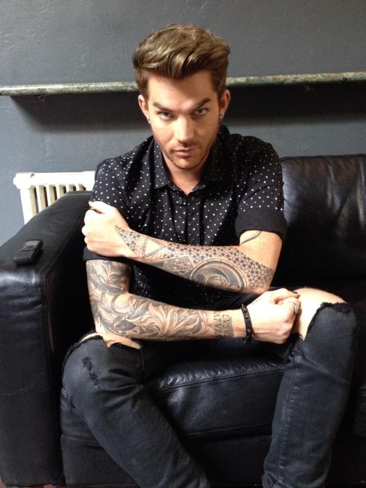 280 best images about adam lambert on pinterest miami for Adam lambert tattoos