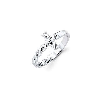 Best Seller! Silver Cross Ring, First Communion Gift, Confirmation Gift for Girl, Sideways Cross Ring, baptismal ring, baptism gift by imkeepsakes on Etsy https://www.etsy.com/listing/221493210/best-seller-silver-cross-ring-first
