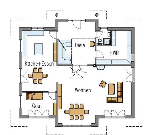 83 best images about home grundrisse floor plans on for Stadtvilla plan