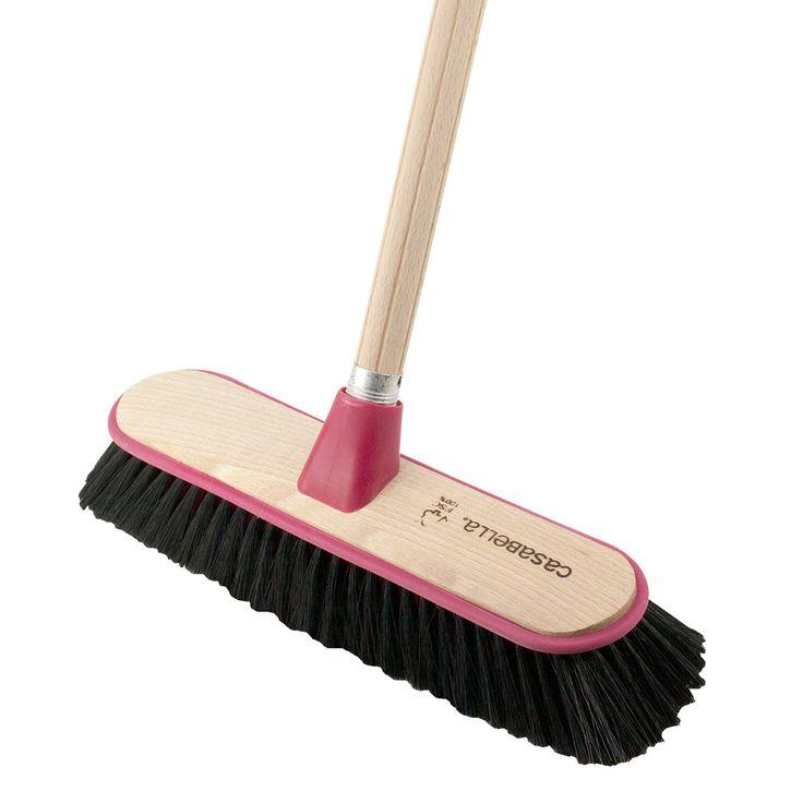 Casabella.com - Raw™ Wood Outdoor Push Broom, $29.99 (http://casabella.com/raw-wood-outdoor-push-broom/)