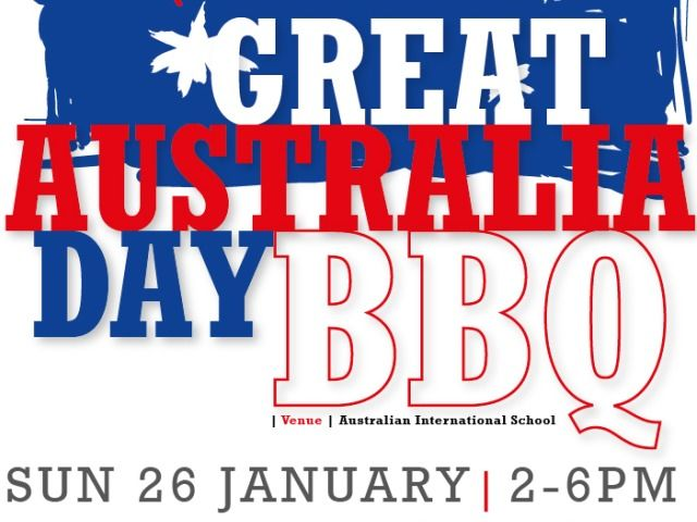 On Australia Day most people eat something  from the BBQ
