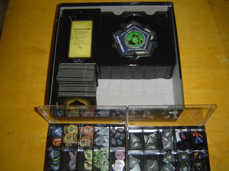 STORAGE SOLUTION FOR BETRAYAL AT HOUSE ON THE HILL