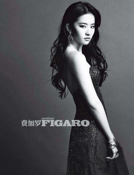 劉亦菲 / 刘亦菲 / Crystal Liu Yi Fei : True Black vs Shades of Gray [00:01-10]