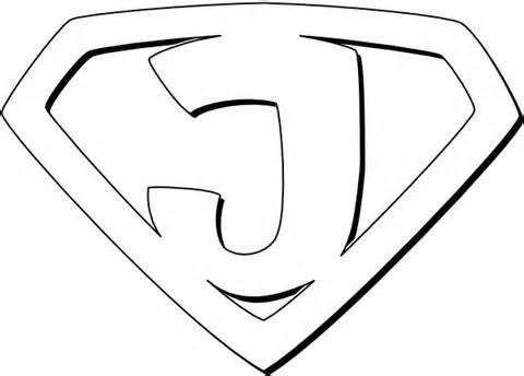 Super Jesus clip art Coloring
