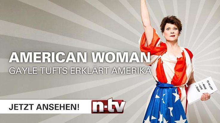 "Folge 1: ""American woman - Gayle Tufts erklärt Amerika"""