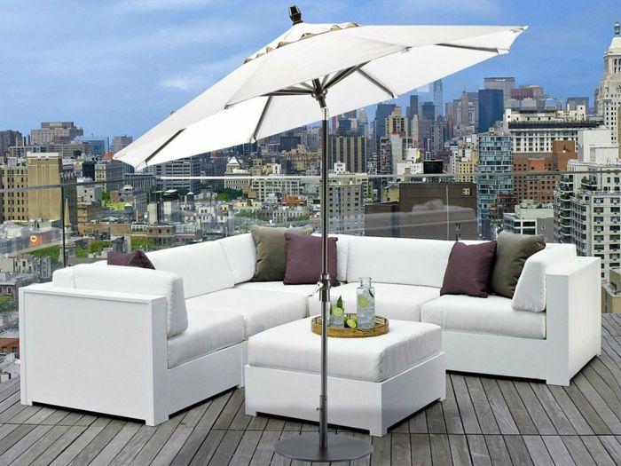 die besten 25 sonnenschirm balkon ideen auf pinterest terrasse sonnenschirme sonnenschirme. Black Bedroom Furniture Sets. Home Design Ideas