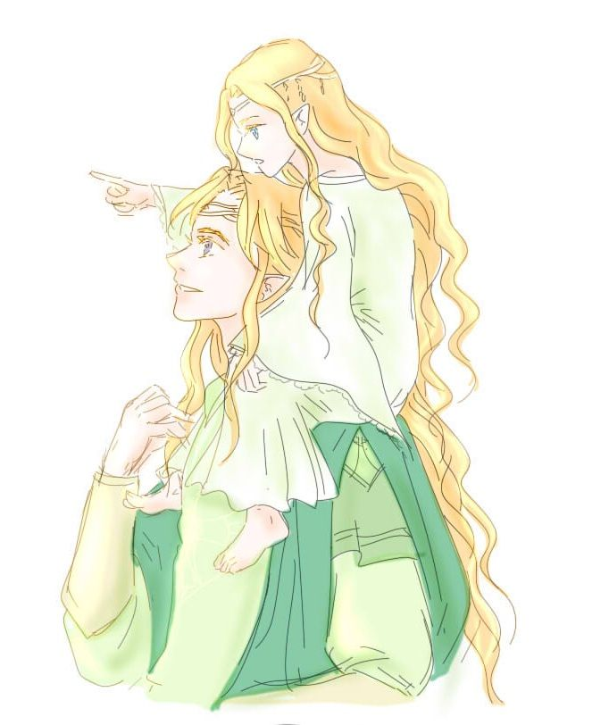 Finrod and Galadriel