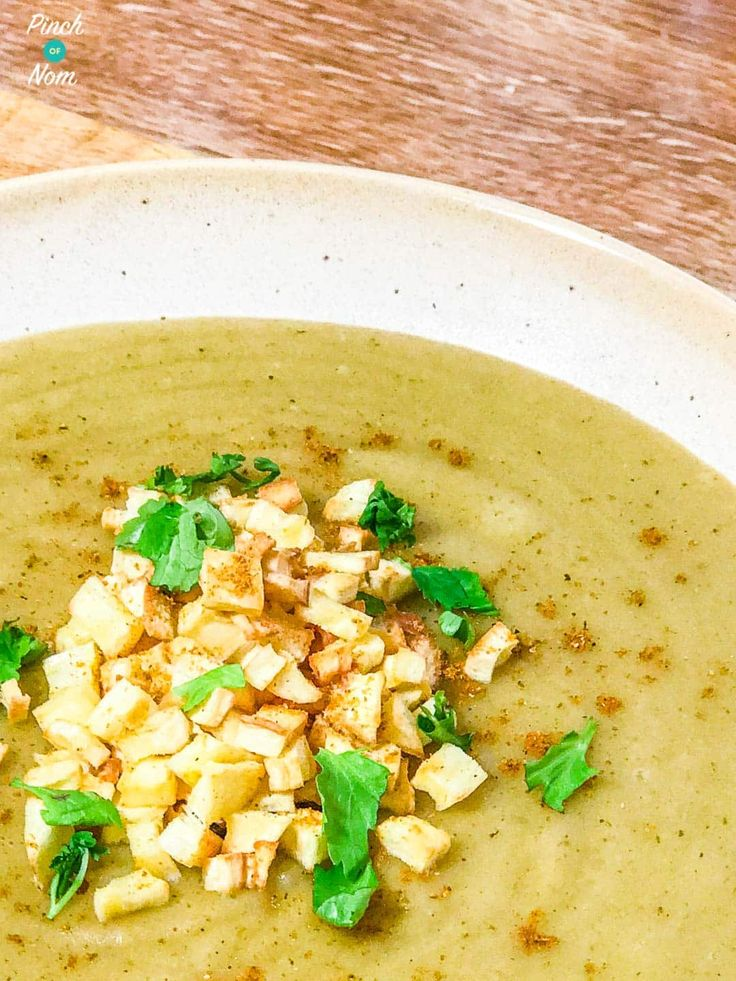 Syn Free Curried Parsnip Soup   Slimming World