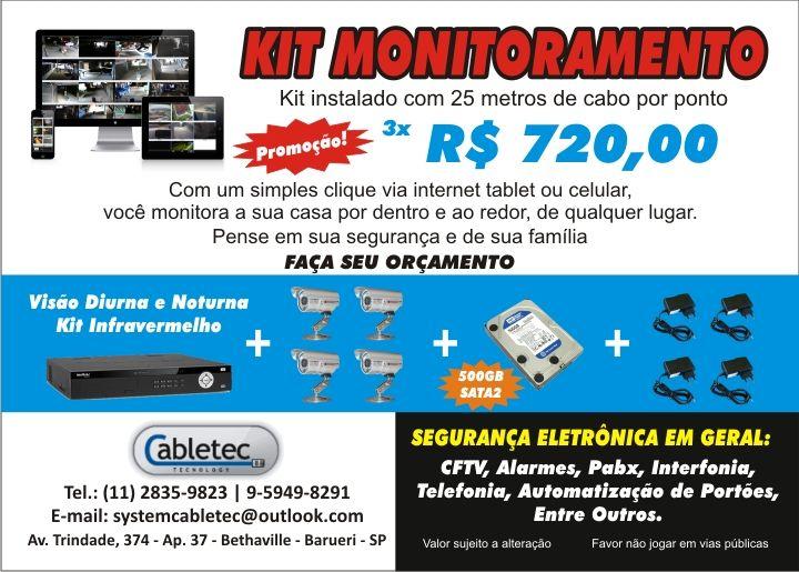 Kit Home de Monitoramento