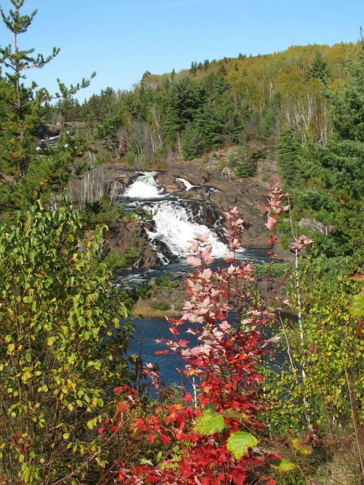 Onaping Falls - Northern Ontario. Minutes south of Levack ON