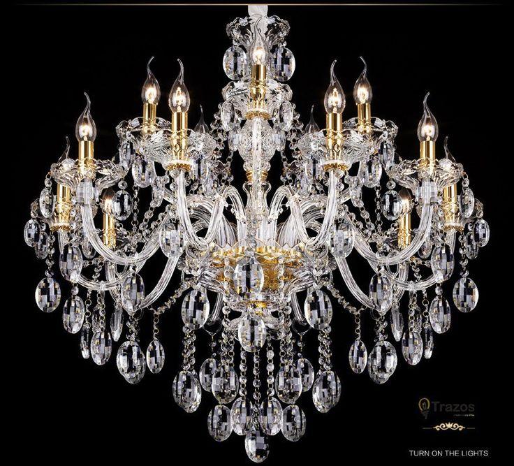 Роскошные Хрустальная люстра Для Гостиной lustre sala de jantar cristal Современные Люстры Светильник Свадебные Украшения купить на AliExpress
