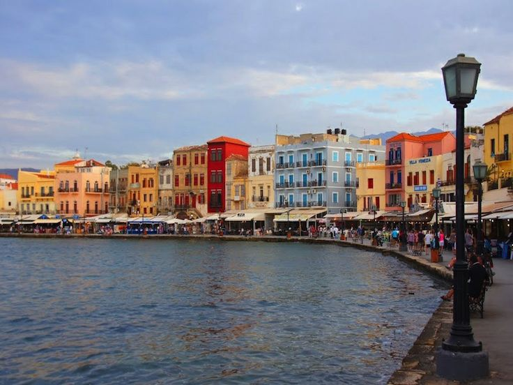 Explore the gorgeous Venetian harbor and pedestrian old town of Chania on this Yoga retreat to Crete, Greece.