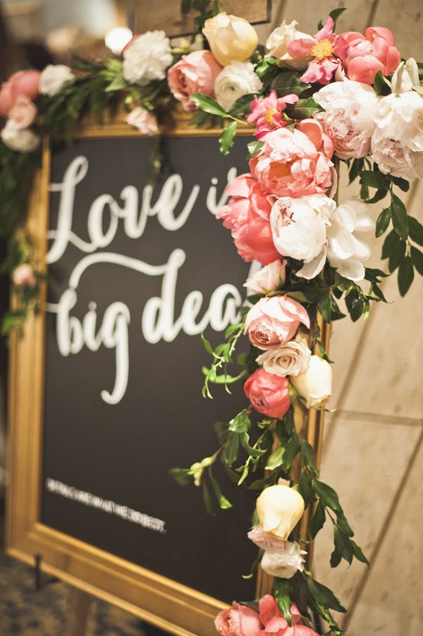 /idea for welcome sign Chalk Board - Gold Frame | In Any