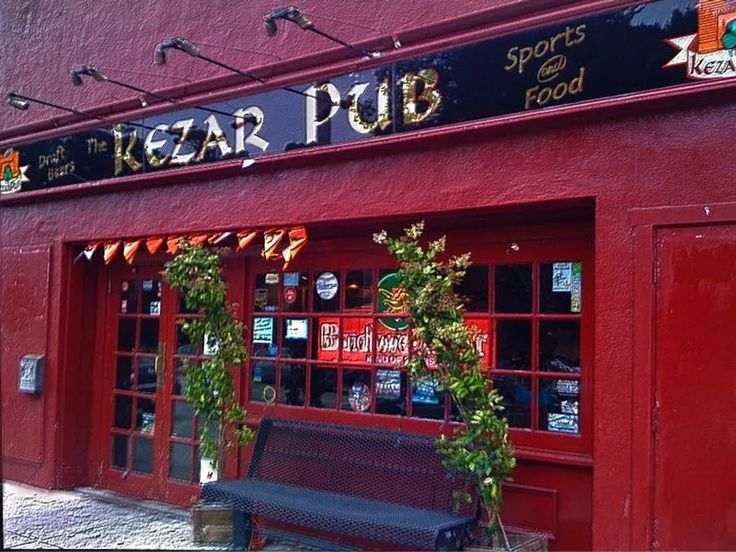 "The Irish-American ""Kezar Pub"" at 770 Stanyan St in San Francisco was at one time known as the ""Kezar Club"" a popular German restaurant during the 60's and 70's. The owners were Tom Perchevitch and his wife Maria and daughter Ursula. Back in the early 70's a roast goose dinner with potato dumplings and red cabbage cost $4.50! How things have changed..."