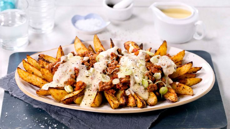 Recipe for Chili cheese fries