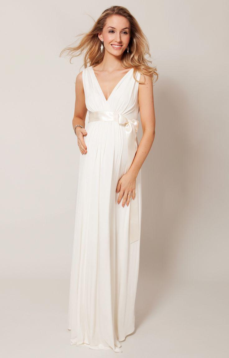 Getragen von Holly Willoughby bei ITV1's Dancing on Ice und Marli Harwood. Wenn Sie in diesem himmlischen Brautkleid in Elfenbein den Raum betreten, werden die Gäste sprachlos sein - der elegante griechische Schnitt ist einfach zu anmutig und schmeichelhaft.