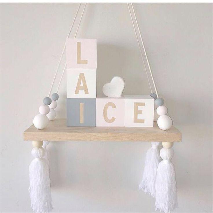 Комната LM1217 детей, украшенные симпатичные изготовленные на заказ деревянные полки перегородки мода держатель деревянные куклы дети детские девушки номер