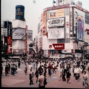渋谷スクランブル交差点 1992