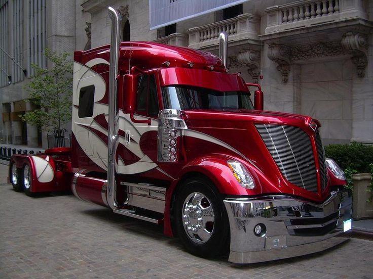 162 best Custom Big Rigs images on Pinterest | Custom big rigs ...