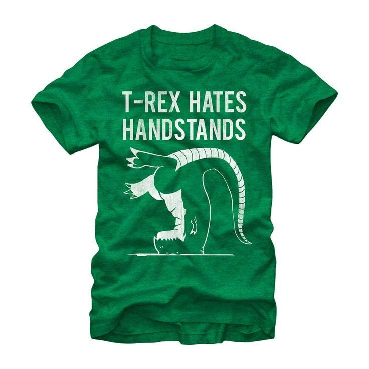 Chin Up - T Rex Handstands Adult Regular Fit T-Shirt