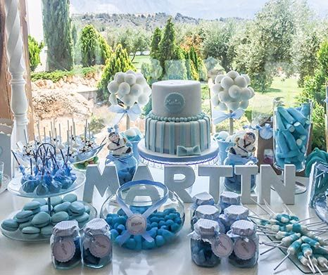 Mesas dulces bautizo comuniones 466 391 - Preparar mesa dulce para comunion ...