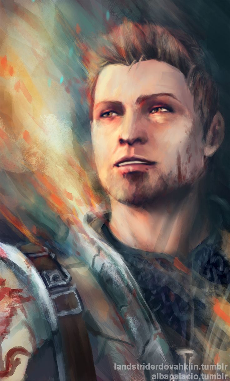 Alistair, a fictional character from Dragon Age that I literally caught feelings for. Lol.