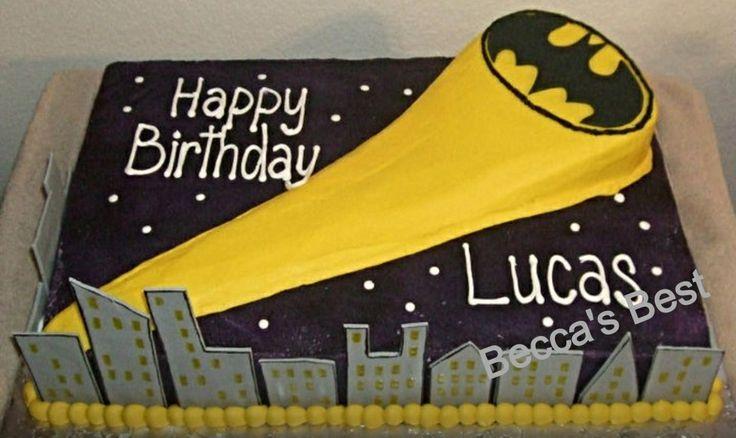 How To Make A Batman Cake With Fondant