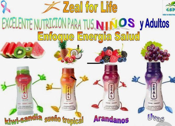 Zurvita Zeal Wellness Drink  Complete Nutrition Vitamins & Minerals  Healthy and Delicious
