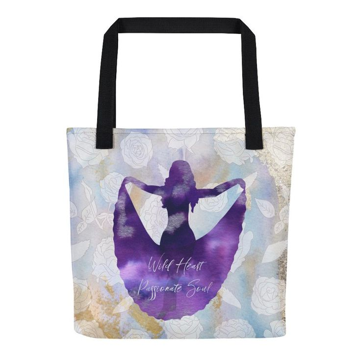 Wild Heart Passionate Soul tote bag
