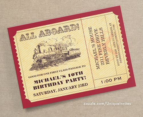 7 best Ticket Invitations images on Pinterest Ticket invitation - ticket invitation