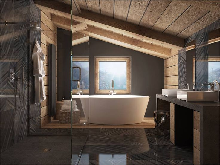 Стиль кантри -ванная комната в этом стиле простая и уютная. Отдельно стоящая купель, душевая кабина . Ванная комната в таком стиле располагает к отдыху, поэтому свет в ней не навязчивый, которые дают теплое освещение. #большая_ванная_комната #совмещенная_ванная_комната #отдельно_стоящая_купель #отдельно_стоящая_ванная