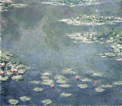 Nympheas, 1906 by Claude Monet - art print from King & McGaw