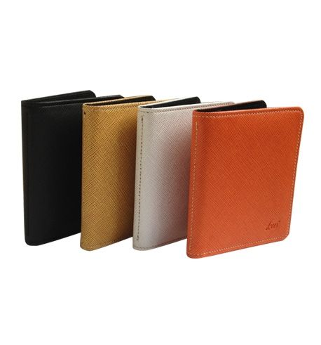 Material : PVC Leather Size: 10.5h X 8w cm  Card holders of 20 cards are available in vertical and horizontal format.