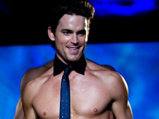 Matt Bomer is going to play a stripper in Magic Mike, coming out June 2012.