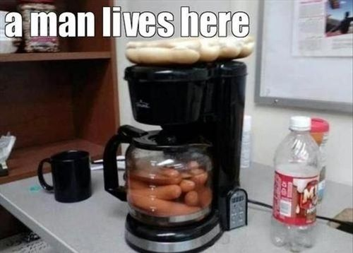 This is really funny,: Idea, Funny Pics, Funny Pictures, April Fools Day, Funny Quotes, Man Caves, Funny Memes, Hot Dogs