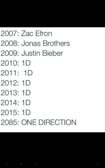 Ttttrrrruuuueeeee 1D will always slay forever and always ✌️