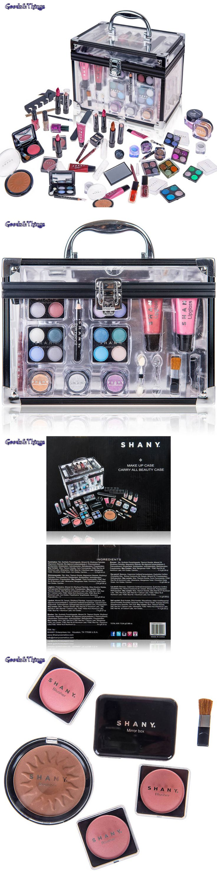 Makeup Sets and Kits: Shany All-In-One Makeup Kit Eyeshadow Palette Blush Gift Set Face Lip Color More BUY IT NOW ONLY: $48.45