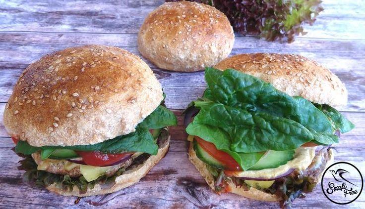Szénhidrátcsökkentett  rostos hamburger zsemle 3db